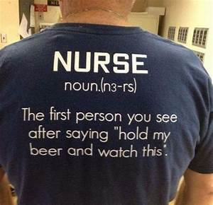 Nurse The first... 1st Person Quotes