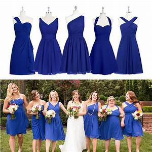 Bridesmaid Dresses,Mismatched Bridesmaid Dresses,Navy Blue ...