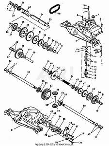 Poulan Pp12542j Tractor Parts Diagram For Dana Transaxle