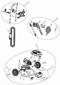 Greenworks Pressure Washer Parts  Breakdown  U0026 Owners Manual