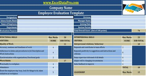 hr templates  excel