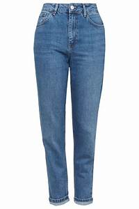 MOTO Authentic Blue Mom Jeans - Topshop USA