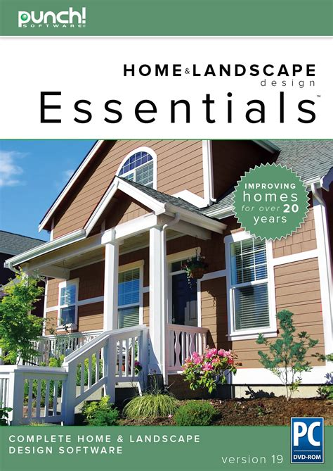 Punch! Home & Landscape Design Essentials V19 Home
