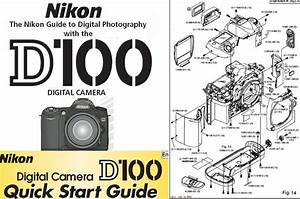 Nikon D100 Instruction Manual  Quick Start Guide  U0026 Parts
