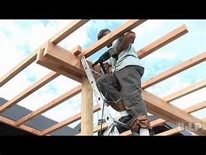 Construire Une Pergola En Bois : comment construire une pergola en bois ~ Premium-room.com Idées de Décoration