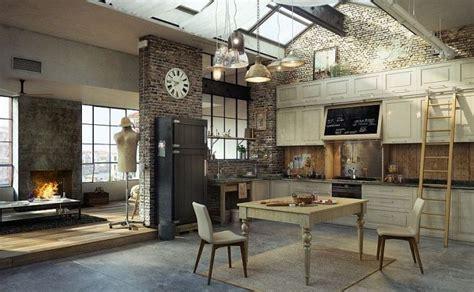 cuisine loft industriel 30 exemples de décoration de cuisines au style industriel