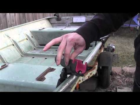 Boat Canopy Rod Holders by Rod Holders For Jon Boat Set Up Best Types And