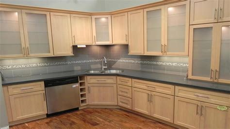 Maple Kitchen Ideas by Modern Kitchen Burl Maple Honey Maple Kitchen Cabinets