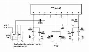 Tda4935 Audio Amplifier Circuit Circuit Diagram World