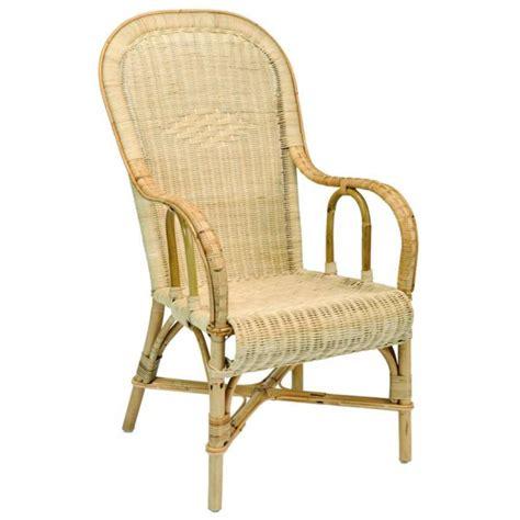 canapé hauteur assise 60 fauteuil tissé moelle de rotin dossier haut la vannerie