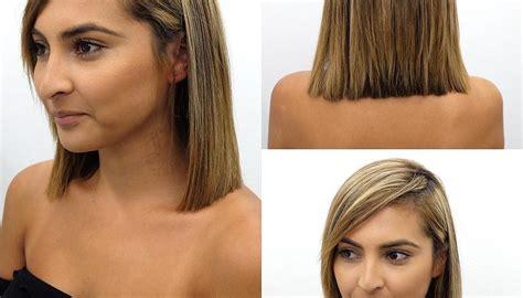 Medium Length Blunt Haircuts