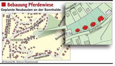 Was Auf Ein Grundstueck Gebaut Werden Darf by An Der Sonnhalde Darf Gebaut Werden Freiburg Badische