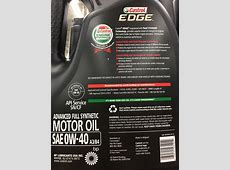 0W40 Castrol Edge European Formula Jaguar Forums