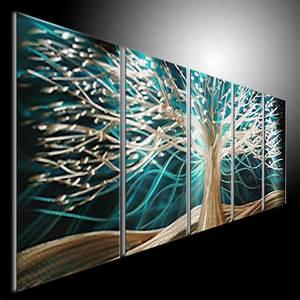 Original Metal Wall Art Modern 3D Painting Sculpture by tomouk