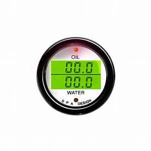 Spa Oil Pressure  U0026 Water Temperature Gauge From Merlin