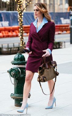 Hope Hicks Dress Blazer