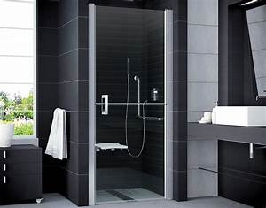 Duschtür 80 Cm : duscht r behindertengerecht 80 x 195 cm duschabtrennung ~ Michelbontemps.com Haus und Dekorationen