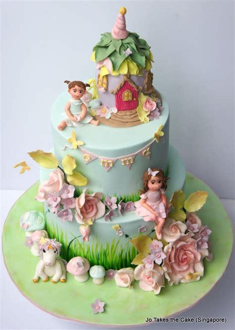fairy garden cake  jotakesthecake cakesdecor