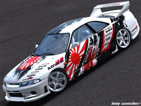 japanese drift cars trackmania carpark 2d skins skyline r33 japan drift