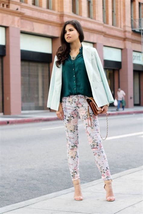 How to Incorporate With Floral Pant Ideas u2013 Designers Outfits Collection