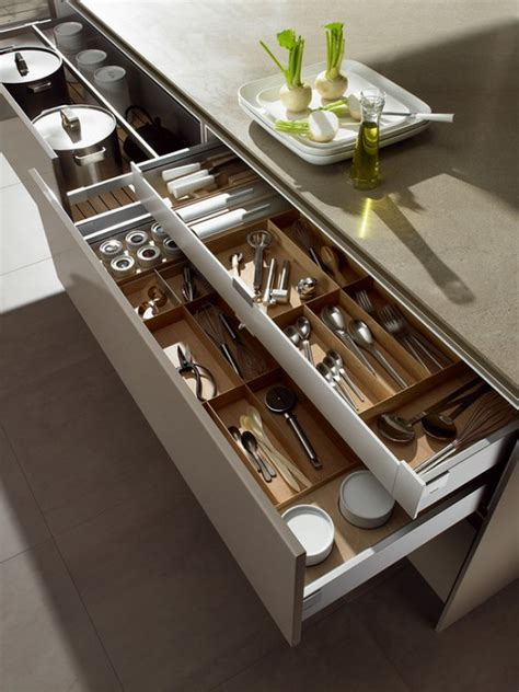 tips  perfectly organized kitchen drawers pulp design
