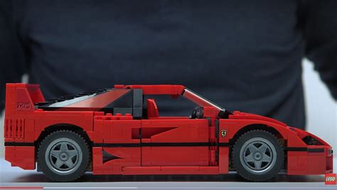 F40 Lego Zusammenbau by Lego Releases Official F40 Comes With Bespoke