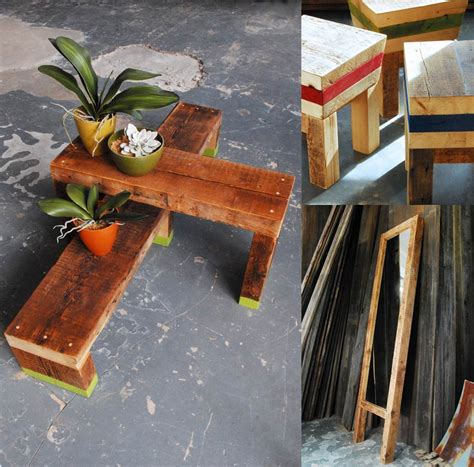 york upcycled modern furniture  discarded