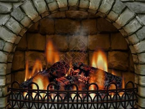 Realistic Fireplace Screensaver - 3d realistic fireplace screen saver protetor de tela