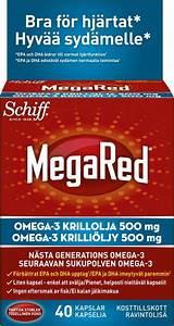 Megared krillolja 500 mg