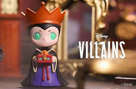 pop mart disney villains vinyl mini figurines cute versions  maleficent evil queencruella