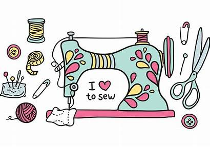 Sewing Machine National Quilters Clipart Fredericton Guild