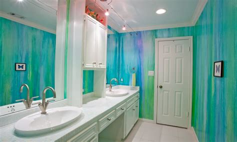 Blue Bathroom Decor Ideas, Teenage Girl Bathroom Design