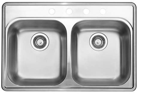 home depot kitchen sinks top mount blanco stainless steel topmount kitchen sink 4 the 8405