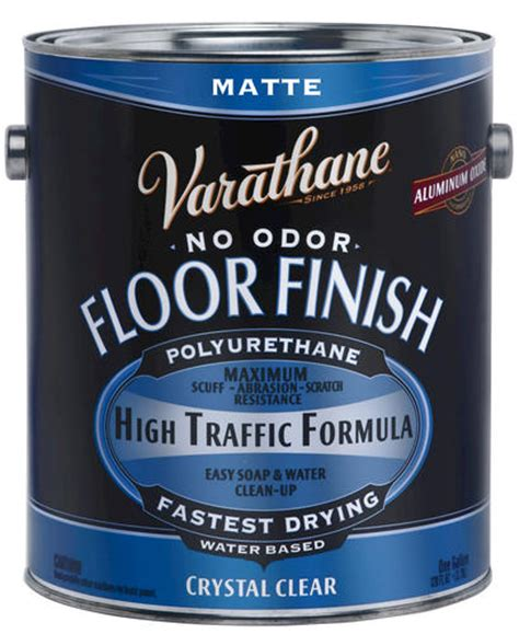 varathane floor finish based varathane 174 matte water based floor finish 1 gal at menards 174