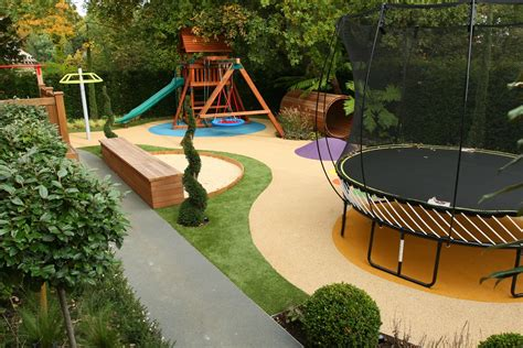 Children's Play Area Designed For Large Private Garden In