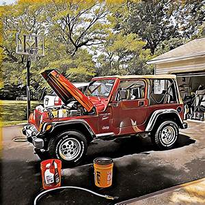 Wash Day  My 1999 Jeep Wrangler Tj Sport  4 0litre With 5