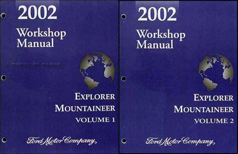 ford explorer sport sport trac repair shop manual