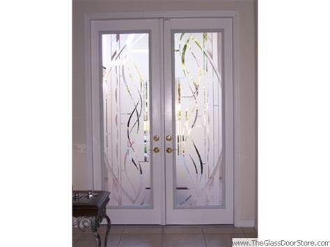 frosted glass doors etched glass doors frosted glass doors tropical glass