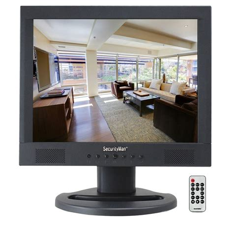 home monitor securityman professional 15 in lcd cctv monitor sm 1580