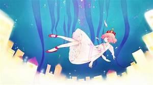 anime girl falling from sky   anime   Pinterest   Anime ...