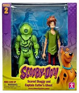 Scooby Doo Series 2 Scared Shaggy And Captain Cutlers