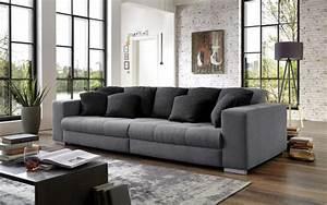 Big Sofa Grau : big sofa ontario in grau online bei hardeck entdecken ~ Buech-reservation.com Haus und Dekorationen