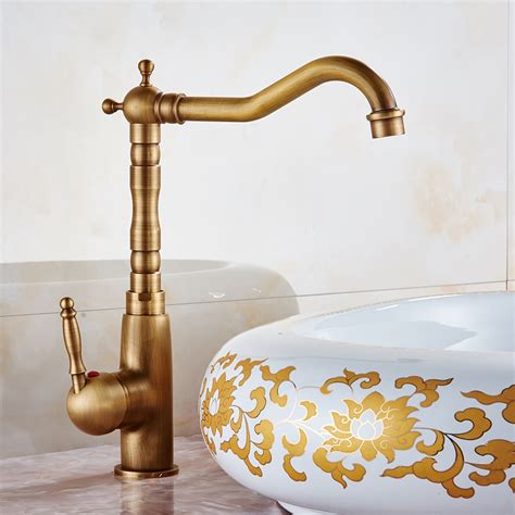 Faucet Stores by Aliexpress Buy Basin Faucets Antique High Arch