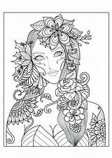 Coloring Pages Complex Animal Printable Colorings Getcolorings Adults sketch template