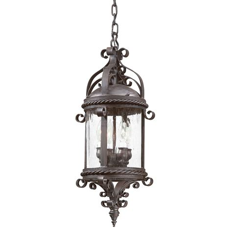 Pamplona Large Four Light Outdoor Pendant Troy Outdoor