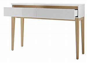 console tiroirs With console avec tiroir meuble entree 9 table console de style industriel micheli design