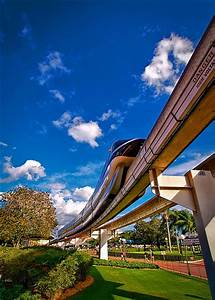 Disney - Monorail Black Outside the Magic Kingdom | Flickr ...