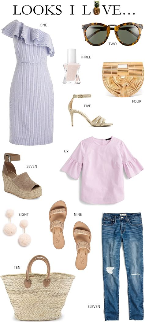 LOOKS I LOVE // SUMMER VACATION OUTFIT IDEAS   Beautifully Seaside