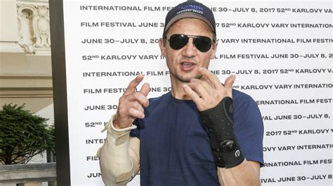 Jeremy Renner Says Broke Both Arms Stunt Accident