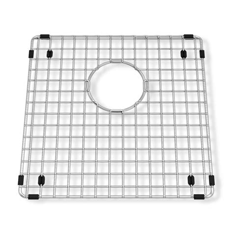 stainless steel grid for kitchen sink american standard prevoir 14 1 4 in square kitchen sink 9394